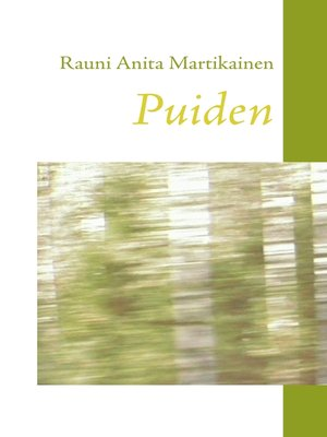 cover image of Puiden