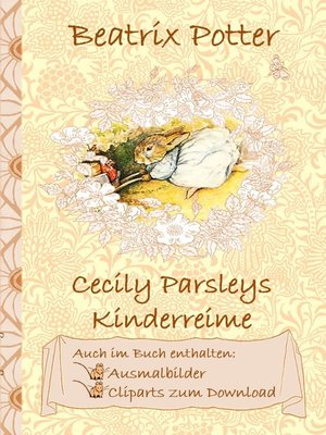cover image of Cecily Parsleys Kinderreime (inklusive Ausmalbilder und Cliparts zum Download)