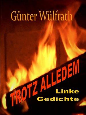 cover image of TROTZ ALLEDEM