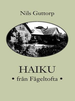 cover image of Haiku från Fågeltofta