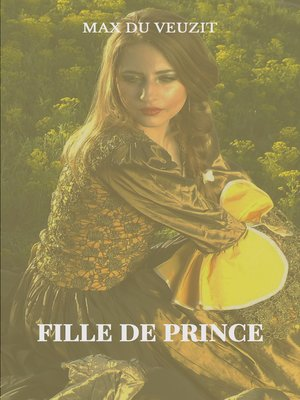 cover image of Fille de prince