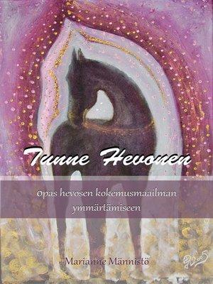cover image of Tunne Hevonen