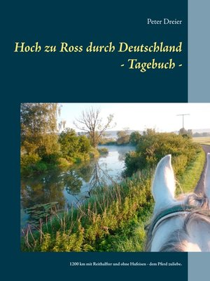 cover image of Hoch zu Ross durch Deutschland--Tagebuch -
