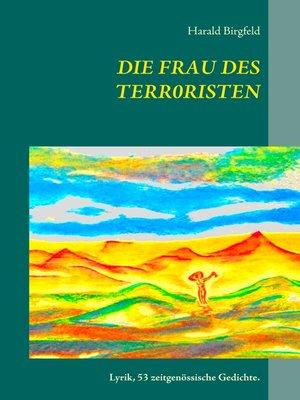 cover image of Die Frau des Terroristen
