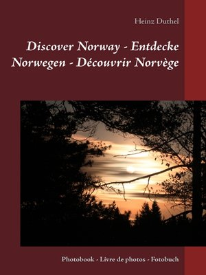 cover image of Discover Norway--Entdecke Norwegen--Découvrir Norvège