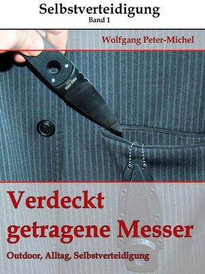 cover image of Verdeckt getragene Messer