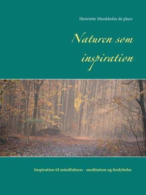 cover image of Naturen som inspiration