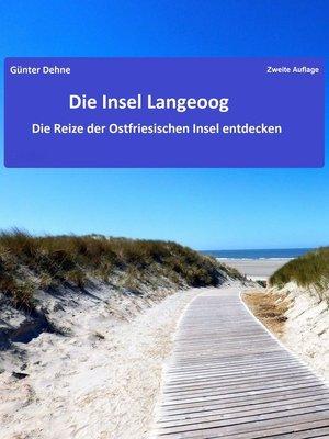 cover image of Die Insel Langeoog
