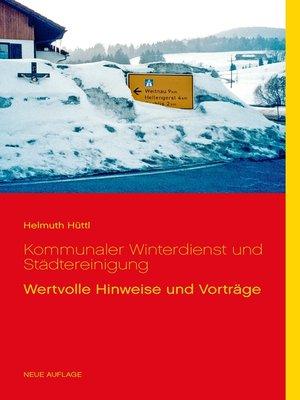 cover image of Kommunaler Winterdienst und Städtereinigung