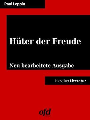 cover image of Hüter der Freude
