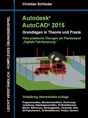 cover image of Autodesk AutoCAD 2015--Grundlagen in Theorie und Praxis