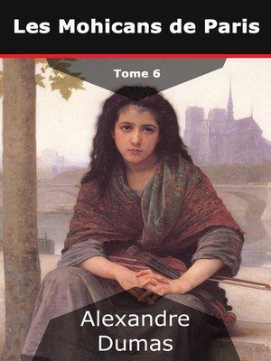 cover image of Les Mohicans de Paris