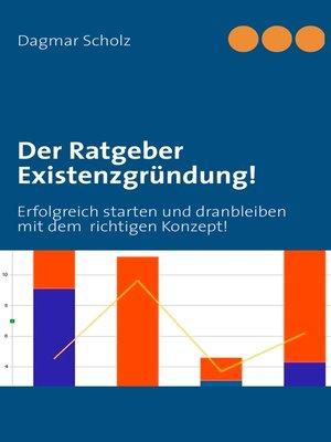 cover image of Der Ratgeber Existenzgründung!