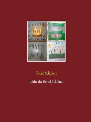 cover image of Bilder des Bernd Schubert