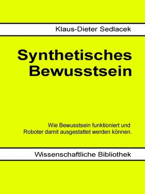 cover image of Synthetisches Bewusstsein