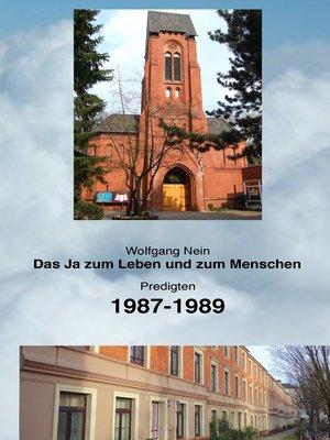 cover image of Das Ja zum Leben und zum Menschen, Band 10
