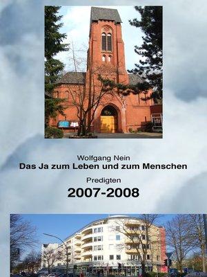 cover image of Das Ja zum Leben und zum Menschen, Band 2