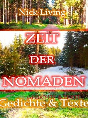 cover image of Zeit der Nomaden