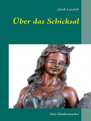 cover image of Über das Schicksal