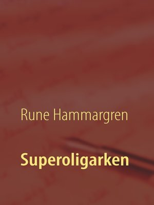 cover image of Superoligarken