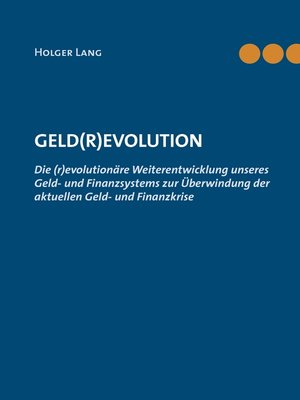 cover image of Geld(r)evolution