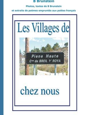 cover image of les villages de chez nous Pienne Hauteb