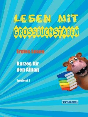 cover image of Lesen mit Großbuchstaben