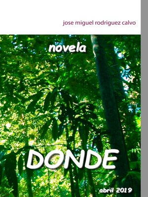 cover image of DONDE