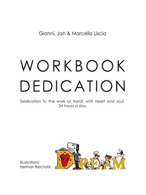 cover image of Workbook Dedication (EV)
