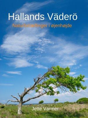 cover image of Hallands Väderö