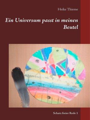 cover image of Ein Universum passt in meinen Beutel
