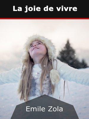 cover image of La joie de vivre