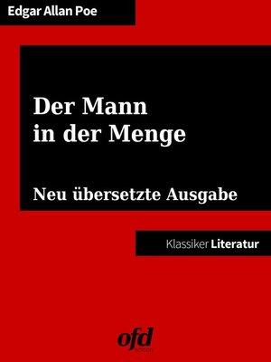 cover image of Der Mann in der Menge
