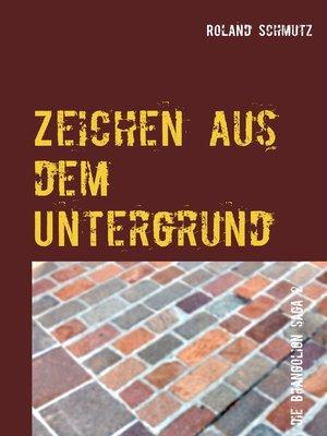 cover image of Zeichen aus dem Untergrund
