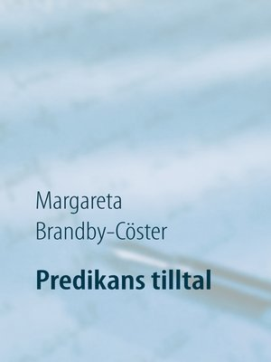 cover image of Predikans tilltal
