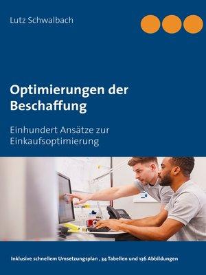 cover image of Optimierungen der Beschaffung