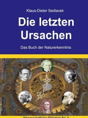 cover image of Die letzten Ursachen