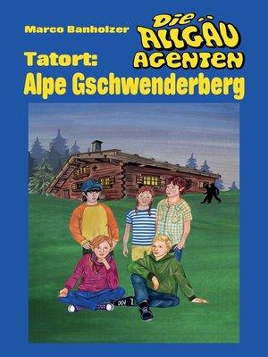 cover image of Die Allgäu-Agenten