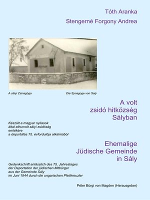 cover image of Ehemalige Jüdische Gemeinde  in Sály