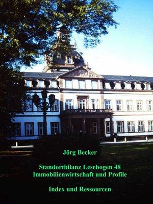 cover image of Standortbilanz Lesebogen 48 Immobilienwirtschaft und Profile