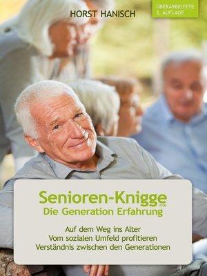 cover image of Senioren-Knigge 2100--Die Generation Erfahrung