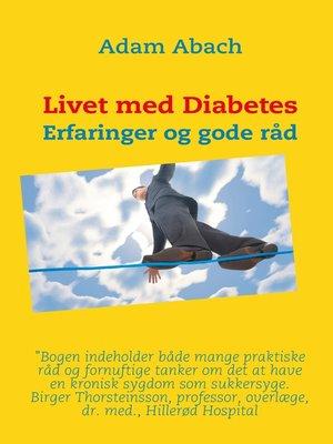 cover image of Livet med Diabetes
