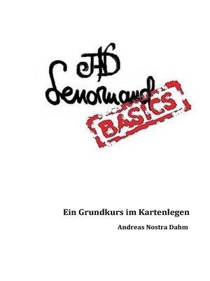 cover image of Lenormand--Basics