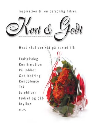 cover image of Kort & Godt