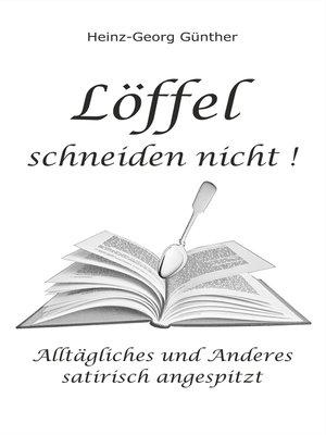cover image of Löffel schneiden nicht