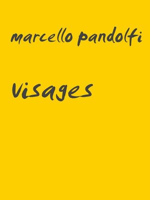 cover image of Visages