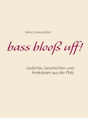 cover image of bass blooß uff!