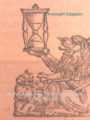 cover image of Die vergessene Kalenderreform des Nikolaus von Kues