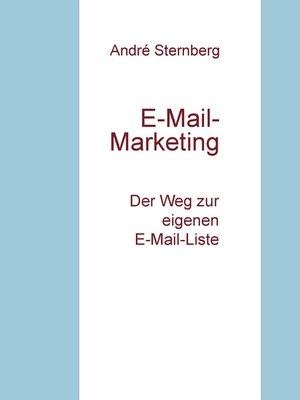 cover image of E-Mail-Marketing