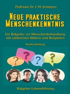 cover image of Neue praktische Menschenkenntnis